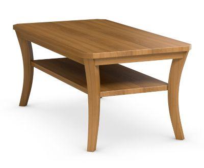 Urbane Rectangular Cocktail Table with Shelf