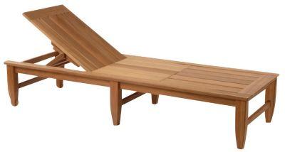 Amalfi Adjustable Poolside Chaise Lounge with Wheels