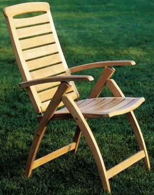 Catalina Adjustable Dining/Lounge Folding Armchair