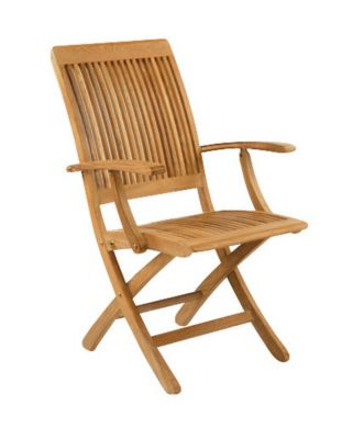 Monterey Folding Dining Armchair