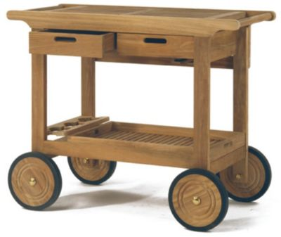Serving Cart with Wheels