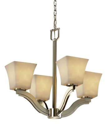 Bend 4-Light Chandelier