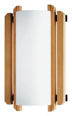 Trommel Beech Wood Wall Sconce (ADA)