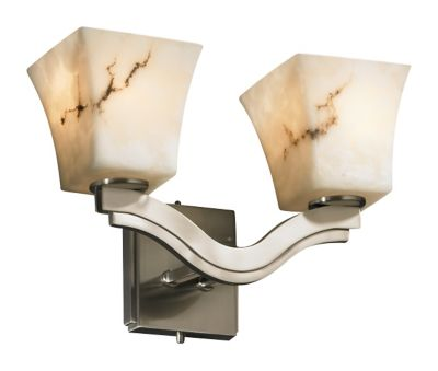 Bend 2-Light Wall Sconce (Style 2)