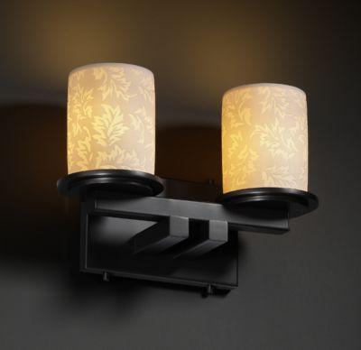 Dakota 2-Light Straight-Bar Bath Bar