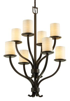 Sonoma 8-Light 2-Tier Chandelier