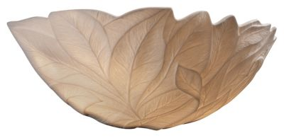 Limoges Leaves Porcelain Bisque