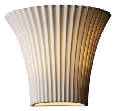 Small Round Flared Wall Sconce