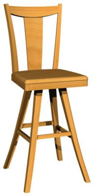1236 Series Memory Swivel Barstool