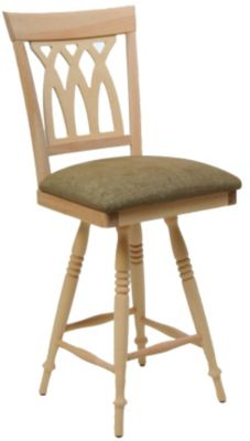 1238 Series Memory Swivel Barstool