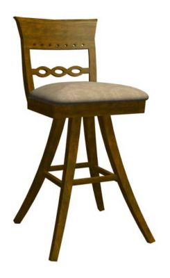 1269 Series Upholstered Memory Swivel Barstool