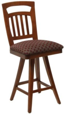 1298 Series Upholstered Memory Swivel Barstool