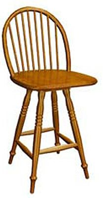 350 Series Memory Swivel Barstool
