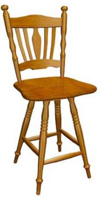 359 Series Memory Swivel Barstool