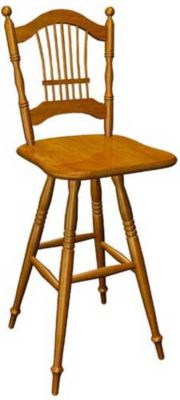 367 Series Memory Swivel Barstool