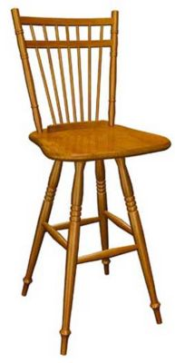 378 Series Memory Swivel Barstool