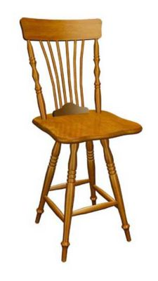 388 Series Memory Swivel Barstool