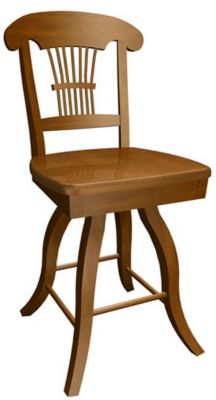 585 Series Memory Swivel Barstool