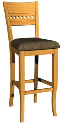 1267 Series Fixed Barstool