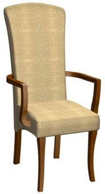 1214 Series Upholstered Arm Chair