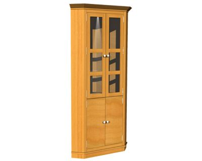 114015 Series Corner Cabinet