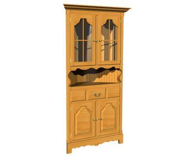 358 Series Corner Cabinet