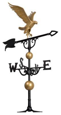 46  Eagle Weathervane - Gold-Bronze