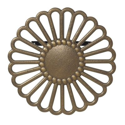 Veneti Hose Holder - French Bronze