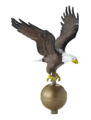 Large Flagpole Eagle - Multi-Colored