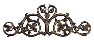 Foliate Hose Holder - French Bronze