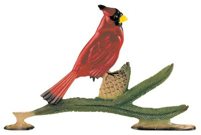 Cardinal Mailbox Ornament - Multi-Colored