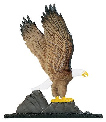 Eagle Mailbox Ornament - Multi-Colored