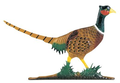 Pheasant Mailbox Ornament - Multi-Colored