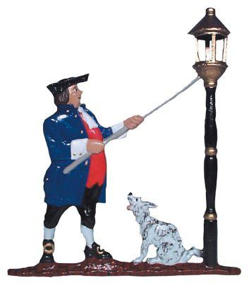 Lamplighter Mailbox Ornament - Multi-Colored