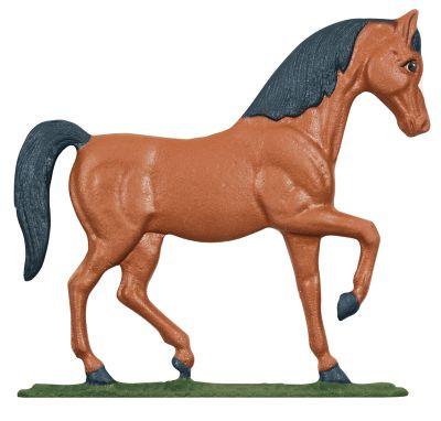 Horse Mailbox Ornament - Multi-Colored