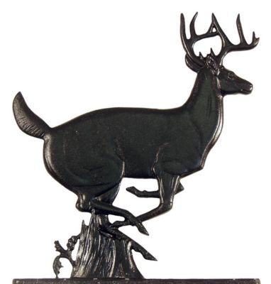 Buck Mailbox Ornament - Black