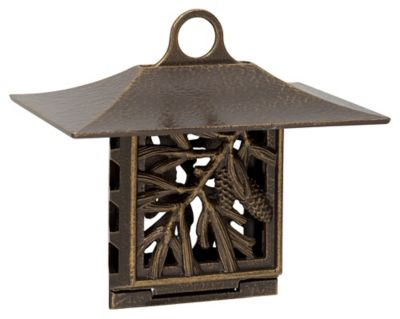 Pinecone Suet Bird Feeder - French Bronze