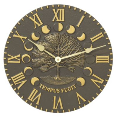 Minutes & Degrees™ Times & Seasons Clock - French Bronze