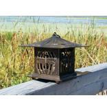 Dragonfly Tea Lantern - Oil Rub Bronze