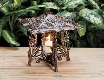 Daffodil Twilight Lantern - French Bronze