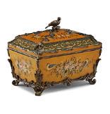 Satinwood Rococo Box