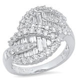 1.78 Ct. Diamond Ring – Size 7