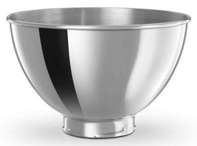 3-Quart Mixing Bowl for 4.5 or 5-Quart Tilt-Head Stand Mixers - Polished Stainless Steel