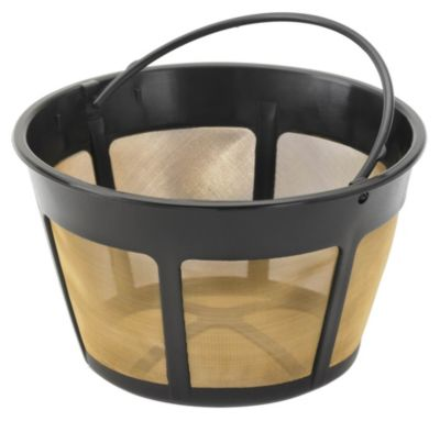 Replacement Gold Tone Filter Basket for Coffee Makers