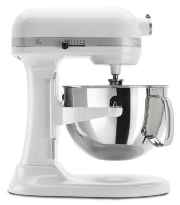 Professional 600™ 6-Quart Bowl-Lift Stand Mixer - White