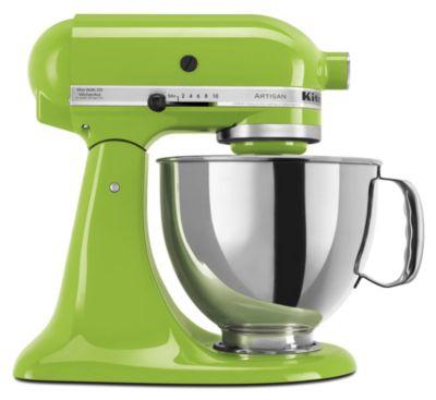Artisan® 5-Quart Tilt-Head Stand Mixer - Green Apple