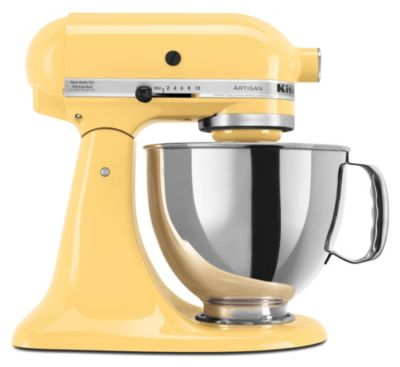 Artisan® 5-Quart Tilt-Head Stand Mixer - Majestic Yellow