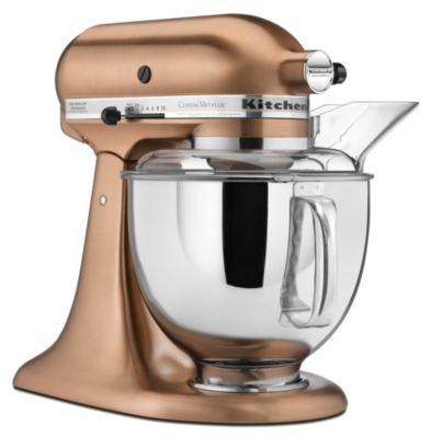 Custom Metallic® 5-Quart Tilt-Head Stand Mixer - Satin Copper