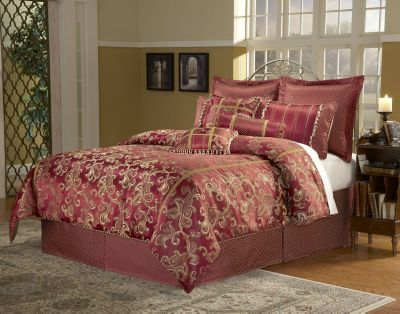 Paramount Queen 11-Piece Super Pack Bedding Set - Crawford Pattern