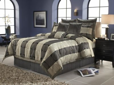 Paramount King 14-Piece Super Pack Bedding Set - Skyline Pattern